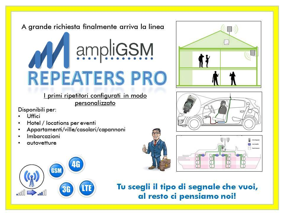 AmpliGsm Repeater Pro